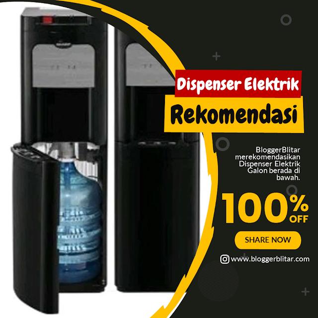 5 Rekomendasi Produk Keluarga Dispenser Elektrik Galon berada di Bawah