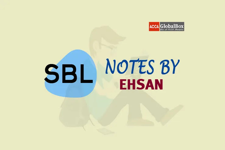 SBL - Notes by Mr. Ehsan, Accaglobalbox, acca globalbox, acca global box, accajukebox, acca jukebox, acca juke box,