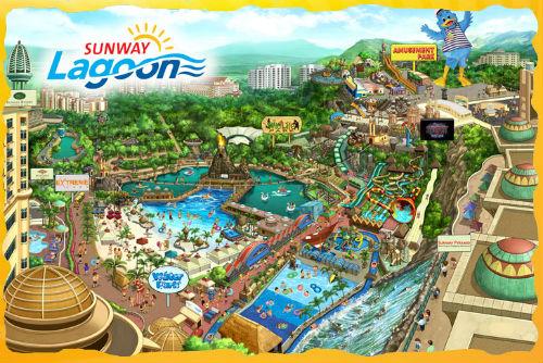 Senarai Taman Tema Di Seluruh Selangor & Kuala Lumpur-Sunway Lagoon Water Park