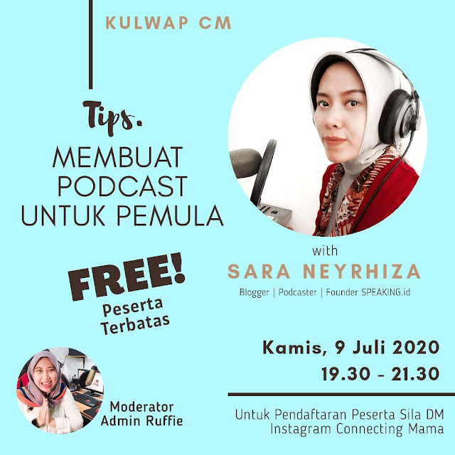 Workshop Membuat Podcast Komunitas
