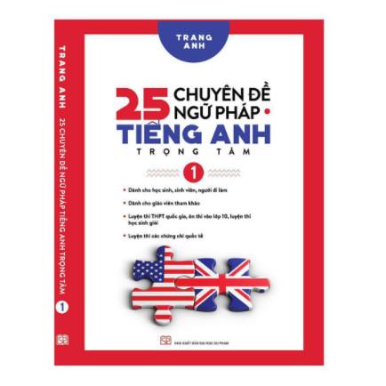 25 Chuyên Đề Ngữ Pháp Tiếng Anh Trọng Tâm – (Tập 1) ebook PDF-EPUB-AWZ3-PRC-MOBI