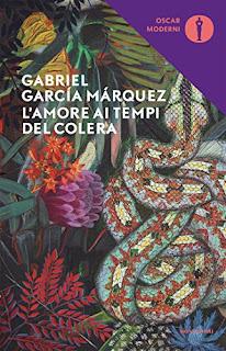 L'amore ai tempi del colera - Copertina, libri, scrittori, recensione