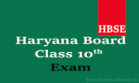 hbse 10th date sheet 2018 haryana board