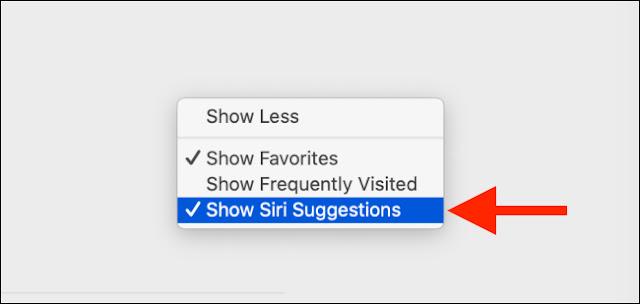 Ẩn hoàn toàn phần Siri Suggestions trên máy Mac