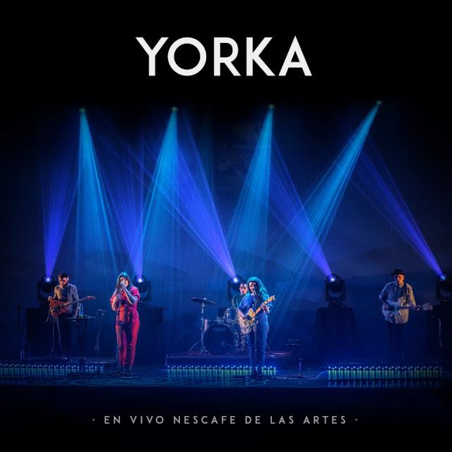 Yorka libera su primer álbum en vivo foto por Mariana Soledad