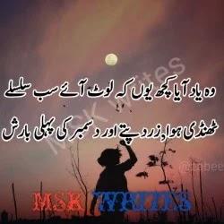 Best Poetry For Friends In Urdu