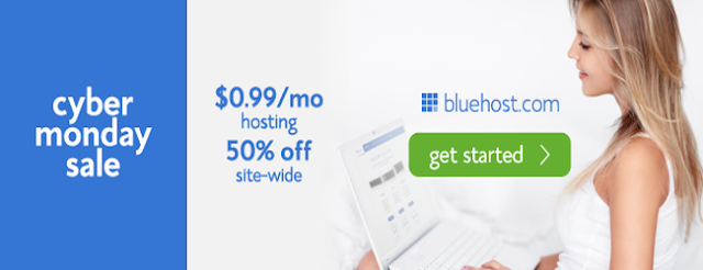Bluehost Cyber Monday Deals and discounts