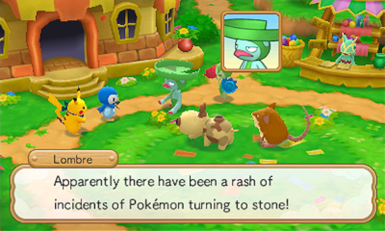 Pokémon Super Mystery Dungeon História