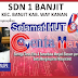 SDN 1 Banjit Mengucapkan Selamat HUT 4 Genta Merah