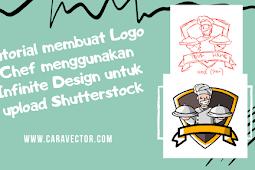 Cara membuat logo Chef untuk di upload ke Shutterstock