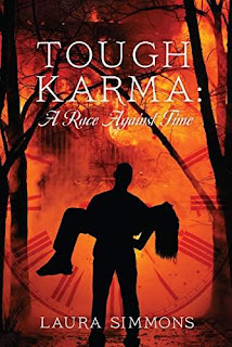 Tough Karma: A Race Against Time - a chilling paranormal romance by Laura Simmons