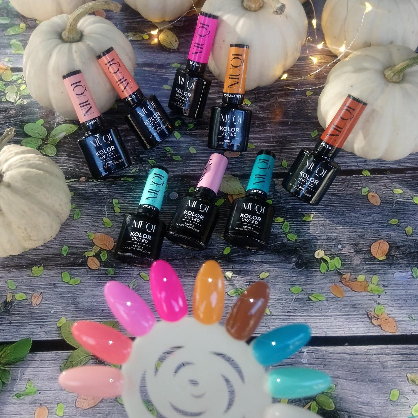 Kolorowy Swiat Terii Niuqi Jesienna Kolekcja 8 Kolorow