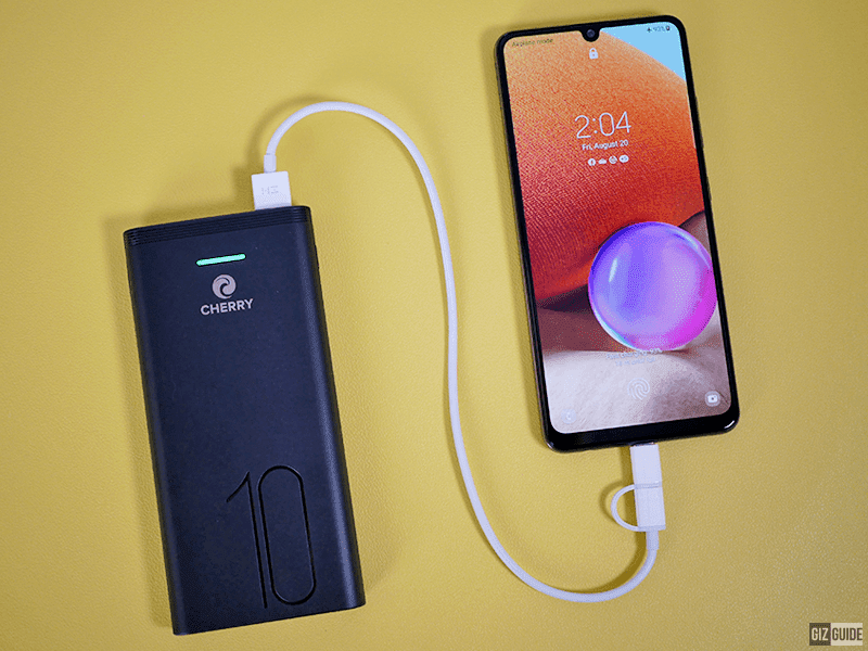 CHERRY has a new slim 10,000mAh power bank with PD3.0 fast charging for PHP 880