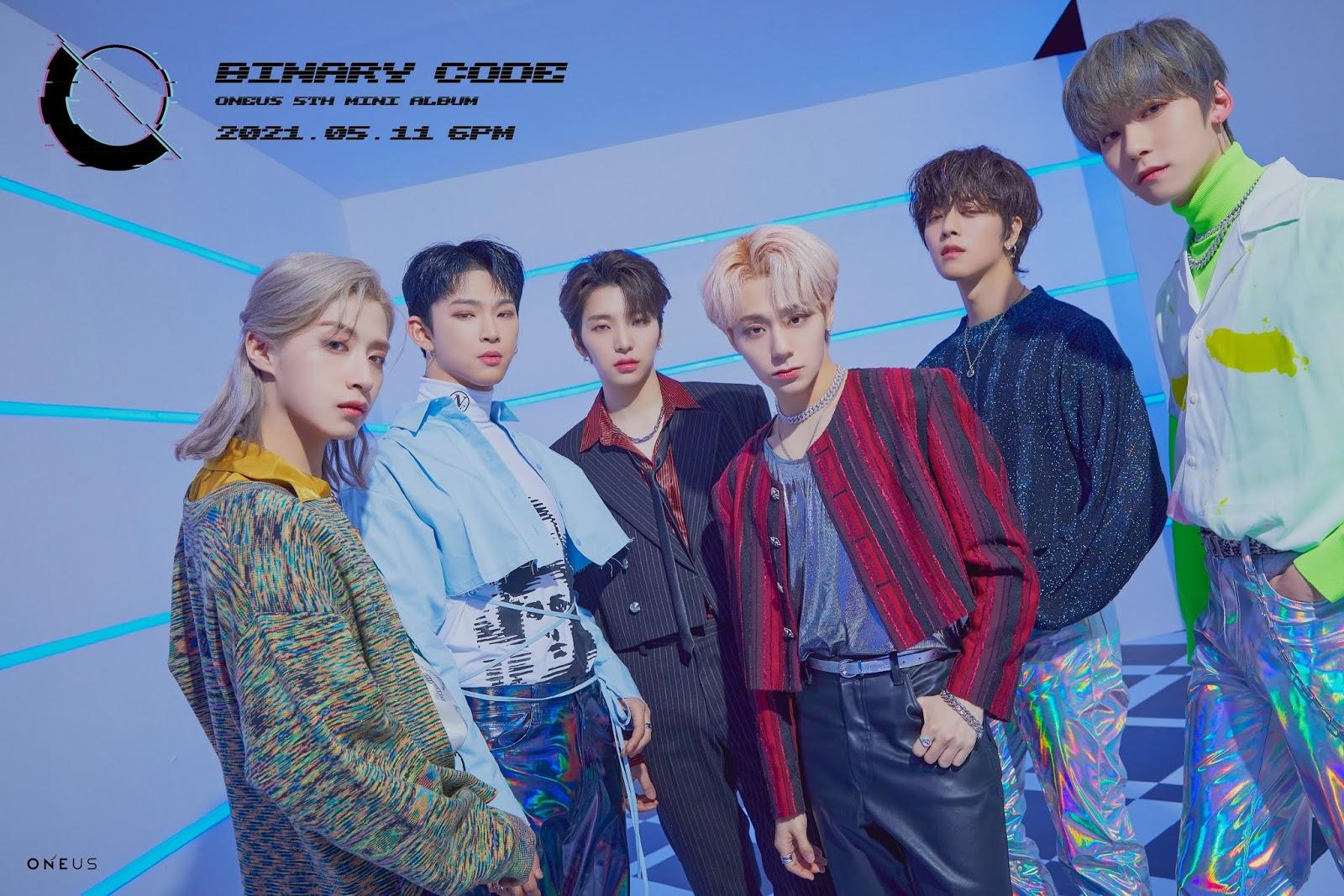 oneus binary code teaser 2