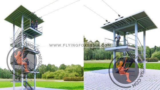 Tower Flying fox