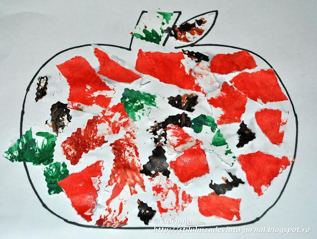 dovleac, craft pentru copii