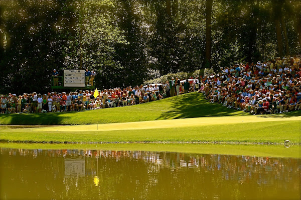 Photo of hole on Augusta National Golf Club Par-3 Course