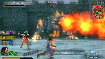 game Dynasty Warriors StrikeForce ISO CSO