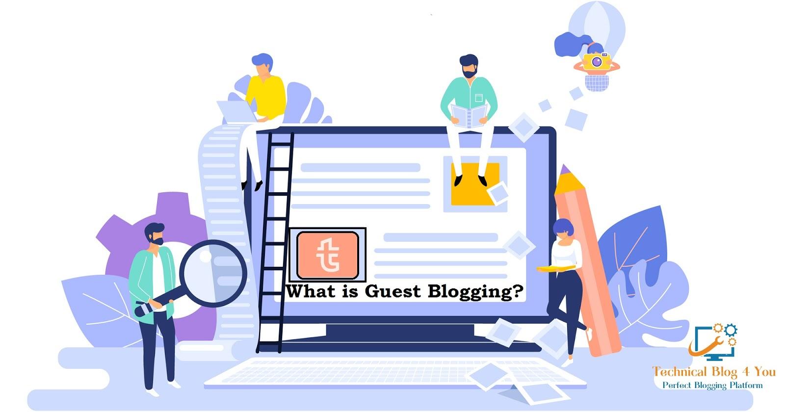 Guest Blogging - cover