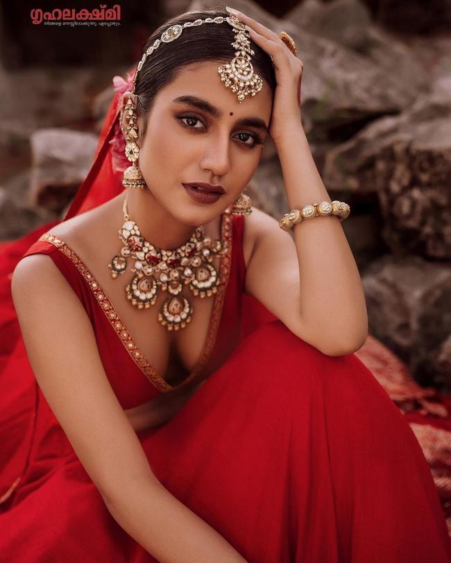Pic Talk: Priya Prakash Varrier Looking Pretty in a Red Dress