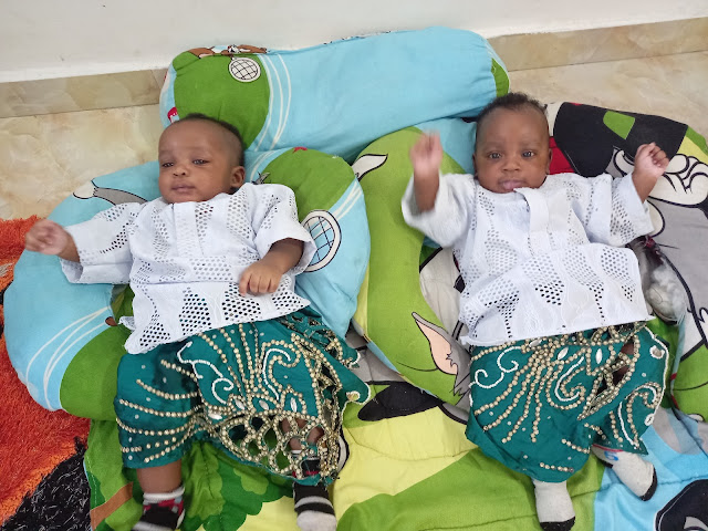 Couples welcomes twins after 14 years of marriage (photos)