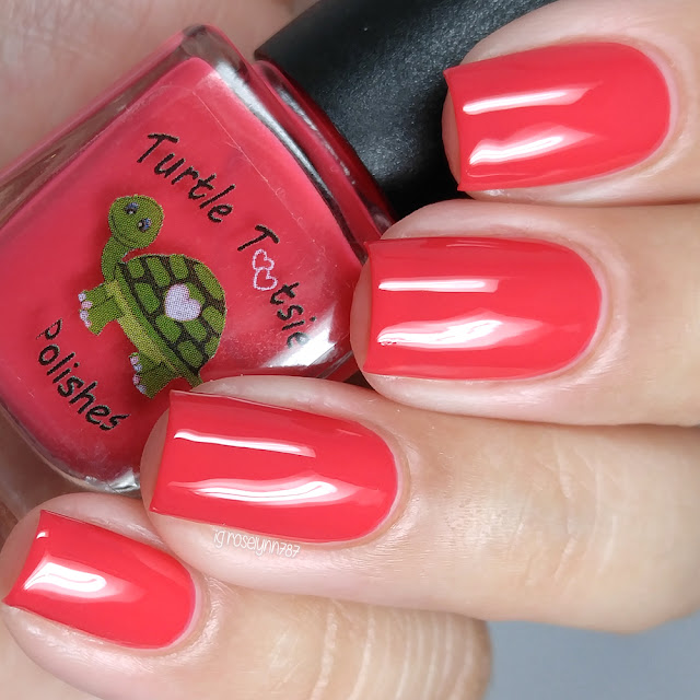 Turtle Tootsie Polishes - Red Ranger