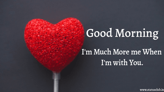 good morning with heart