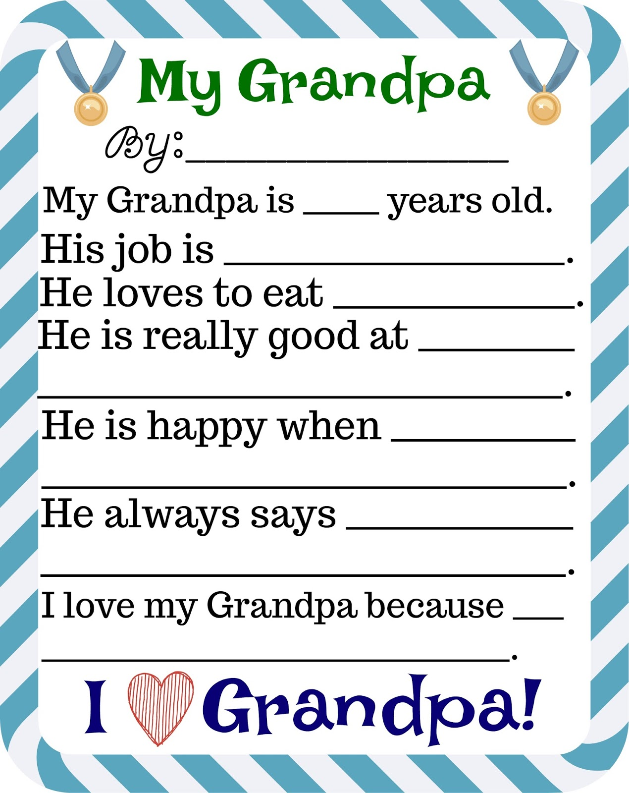 Father S Day Free Printables