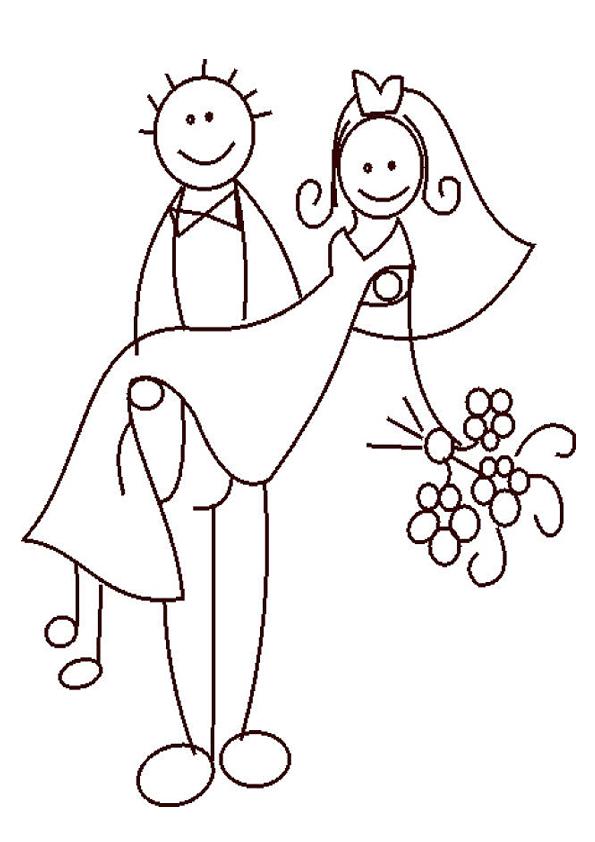 Novios para dibujar - Imagui