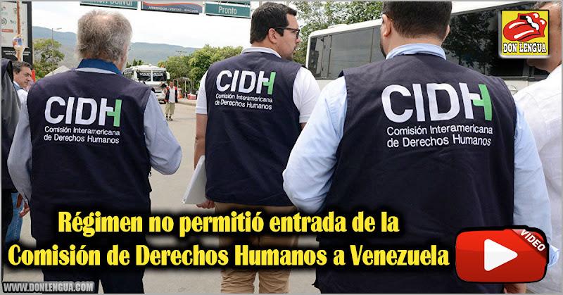 Régimen no permitió entrada de la Comisión de Derechos Humanos a Venezuela