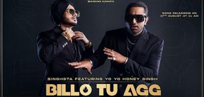 Billo Tu Agg Yo Yo Honey Singh New Whatsapp Status