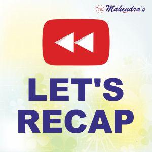 Let's Recap :17-01-20