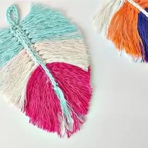Plumas a Crochet