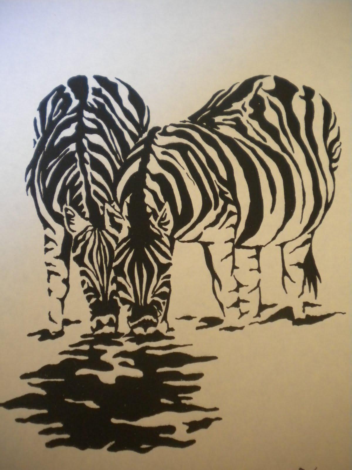 Pseudenham Crafts: Pen drawings of animals
