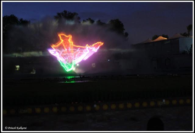 Lumbini Park lesser show