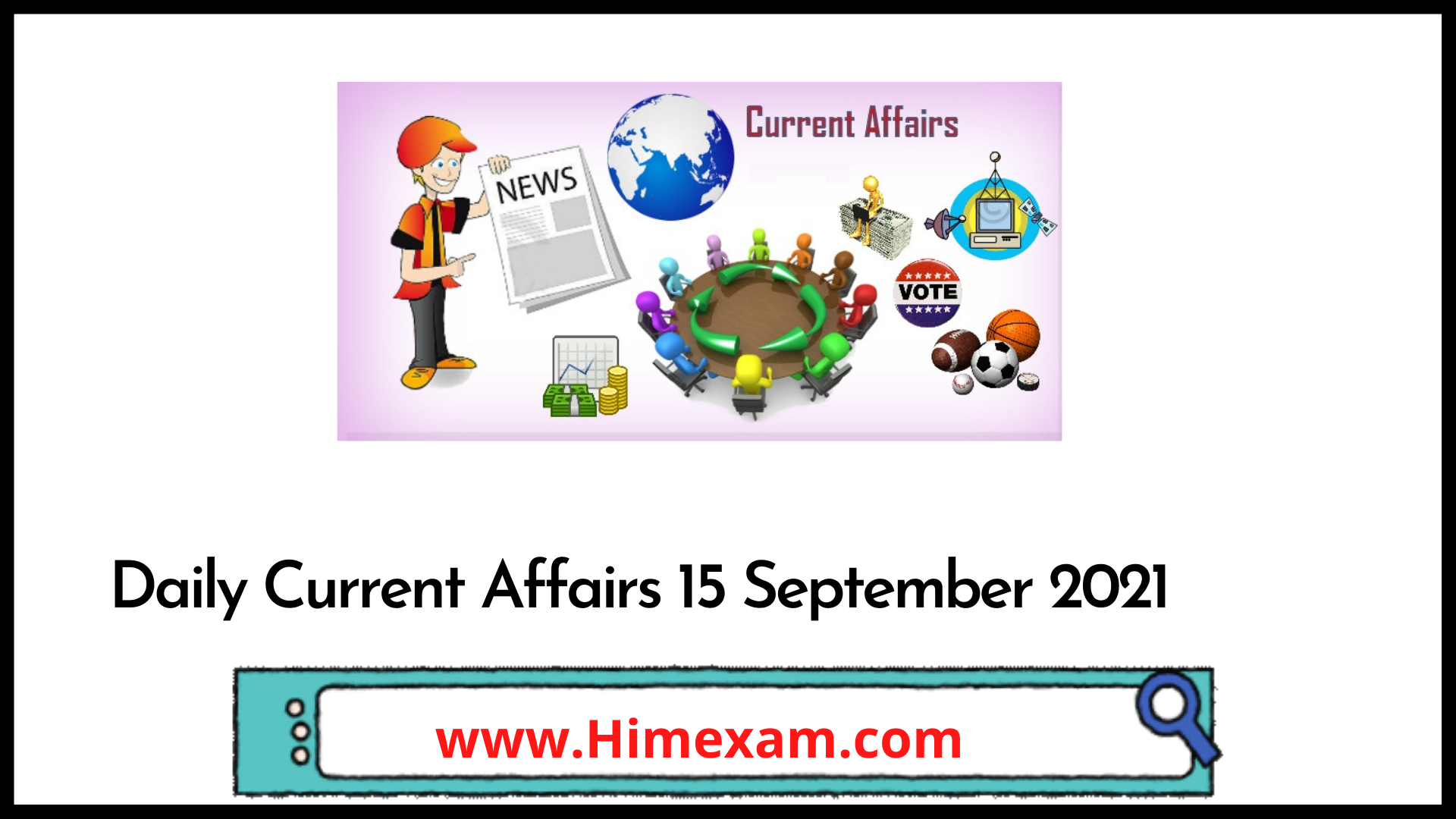 Daily Current Affairs 15 September 2021