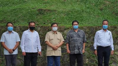 Temui Prabowo, Airlangga Hartarto Jajaki Maju di Pilpres 2024?