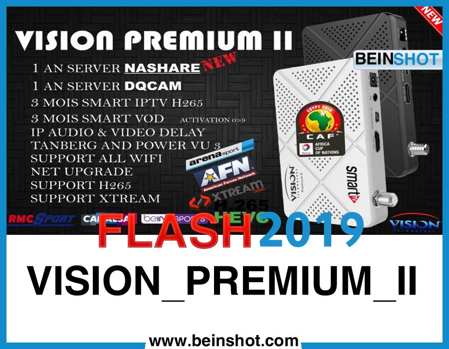 التحديث الأخير و الرسمي لجهاز VISION_PREMIUM_II