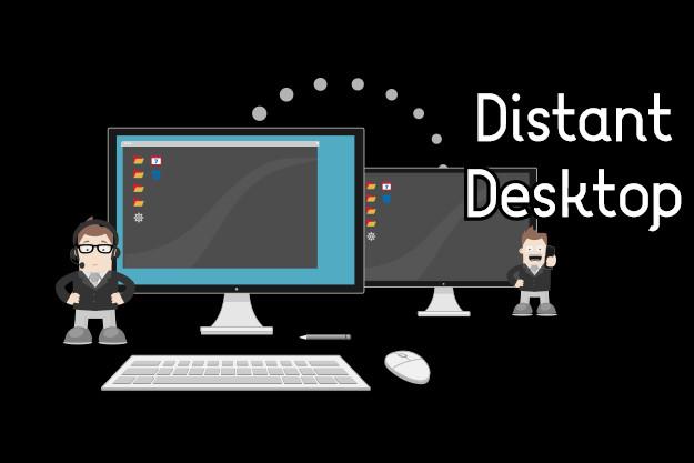 Distant Desktop - Τεχνική υποστήριξη και έλεγχος υπολογιστών εξ αποστάσεως