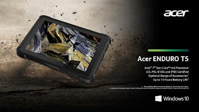 Acer Enduro T5 Rugged Tablet