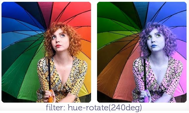 filter: hue-rotate