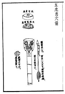 Ming Chinese Handheld Rocket Pod