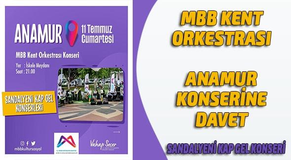 Mersin Büyük Şehir Belediyesi, Anamur Haber,