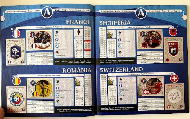 Figurine Girone A Euro 2016 Panini