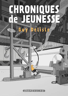 """couverture de """"CHRONIQUES DE JEUNESSE"""" de Guy Delisle chez Delcourt"""