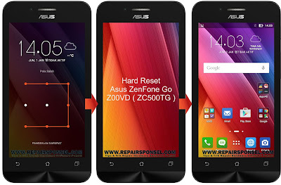 Hard Reset Asus ZenFone Go Z00VD ( ZC500TG )