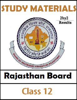 Rajasthan 12th Model Question papers 2018 2017 2016 for all Subjects PDF