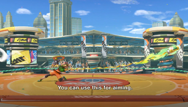 Super Smash Bros. Ultimate Min Min bend ARMS