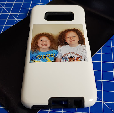 Personalised caes review photo phone case Galaxy S8