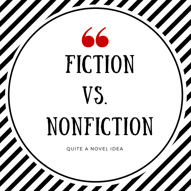 fiction vs non Everyone hopes the new common core standards will get our students out of a reading slump but the standards demand for more non-fiction reading is being resisted by.